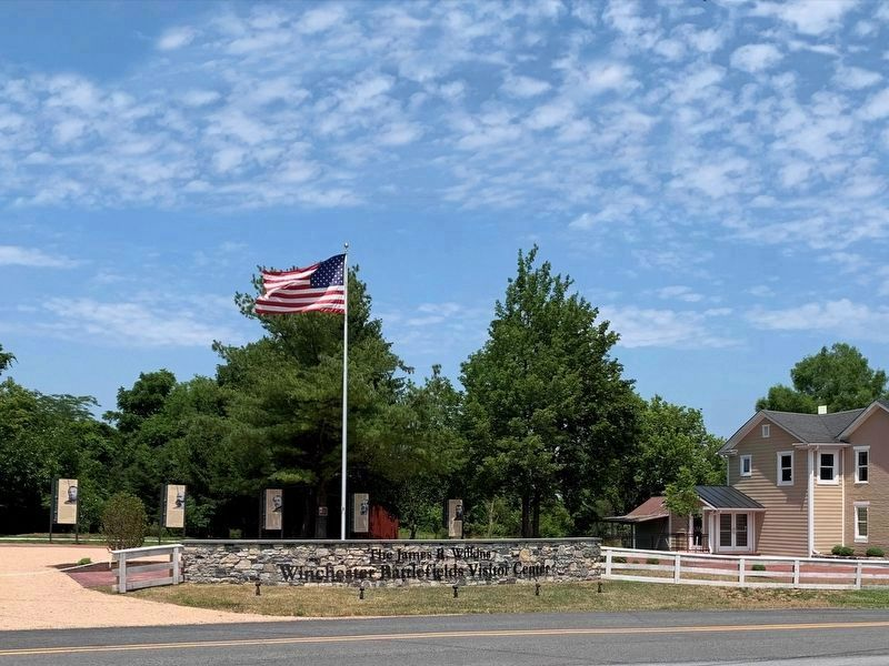 James R. Wilkins Winchester Battlefields Visitor Center image. Click for full size.