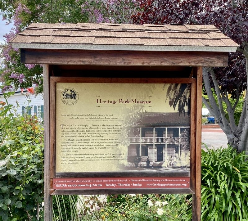 Heritage Park Museum Marker image. Click for full size.