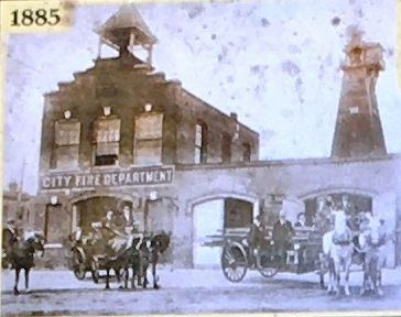 (Middle): Brunswick Fire Department 1885 image. Click for full size.