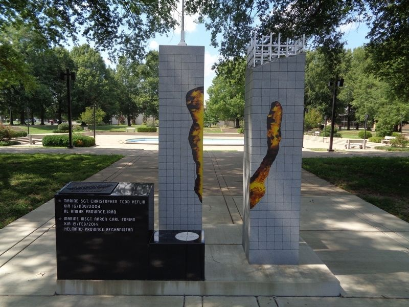 Global War on Terrorism Memorial image. Click for full size.