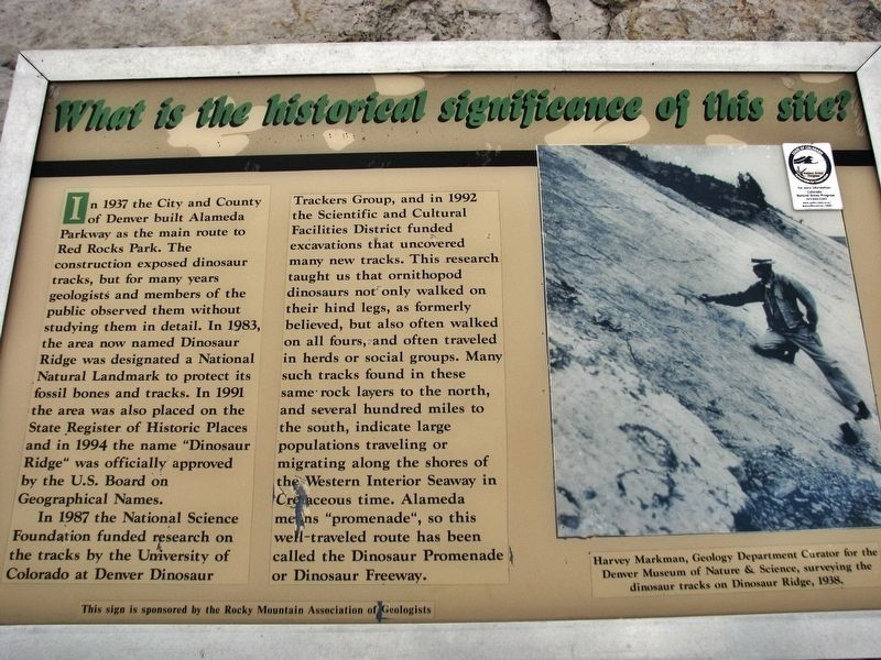What is the Historical Significance of this Site? Marker image. Click for full size.
