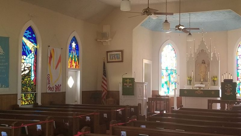 Inside view of St. Paul Lutheran Church image. Click for full size.