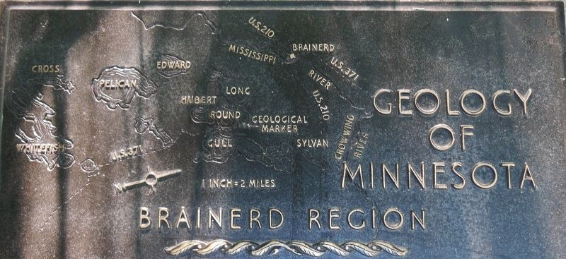 Marker detail: Brainerd Region Map image. Click for full size.