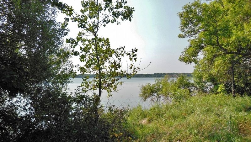 Long Lake North (<i>view from near marker</i>) image. Click for full size.