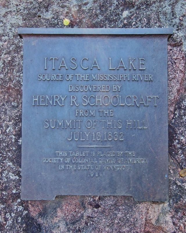 Itasca Lake Marker image. Click for full size.