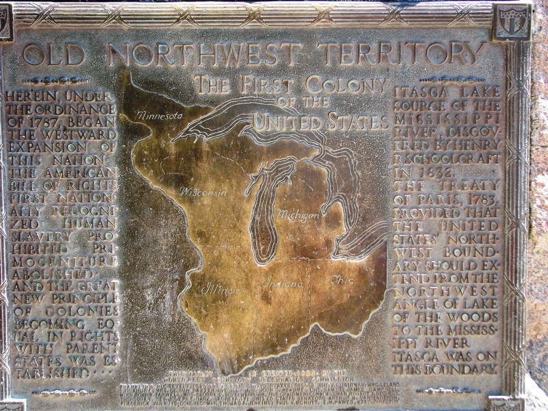 Old Northwest Territory Marker image. Click for full size.