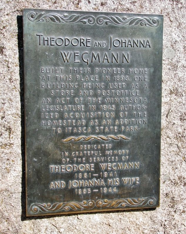 Theodore and Johanna Wegmann Marker image. Click for full size.