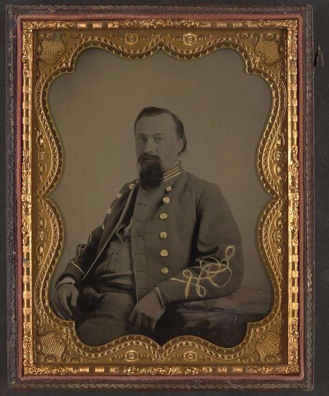 Major Philip Van Horn Weems, CSA image. Click for full size.