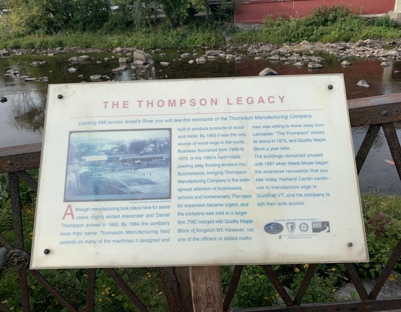 The Thompson Legacy Marker image. Click for full size.