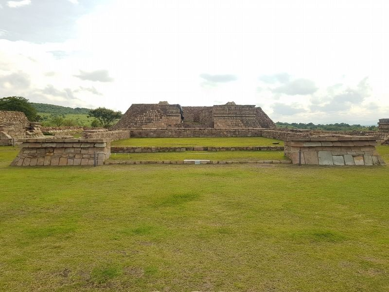 The central pyramid of the Casas Tapadas group at Plazuelas image. Click for full size.