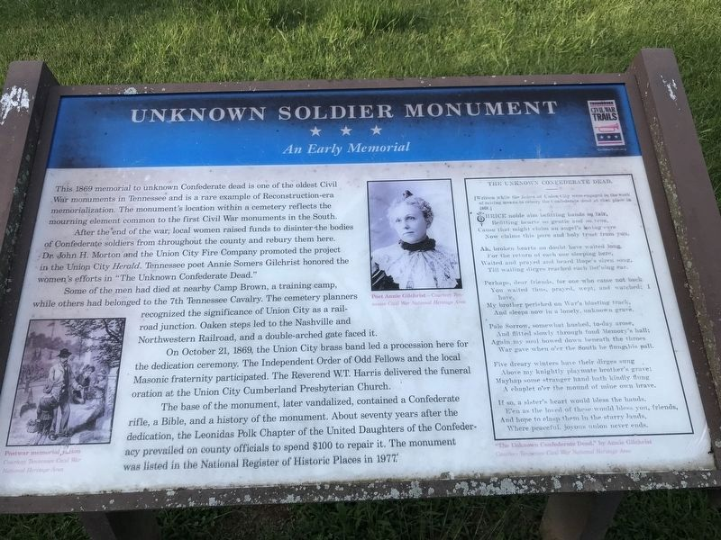 Unknown Soldier Monument image. Click for full size.