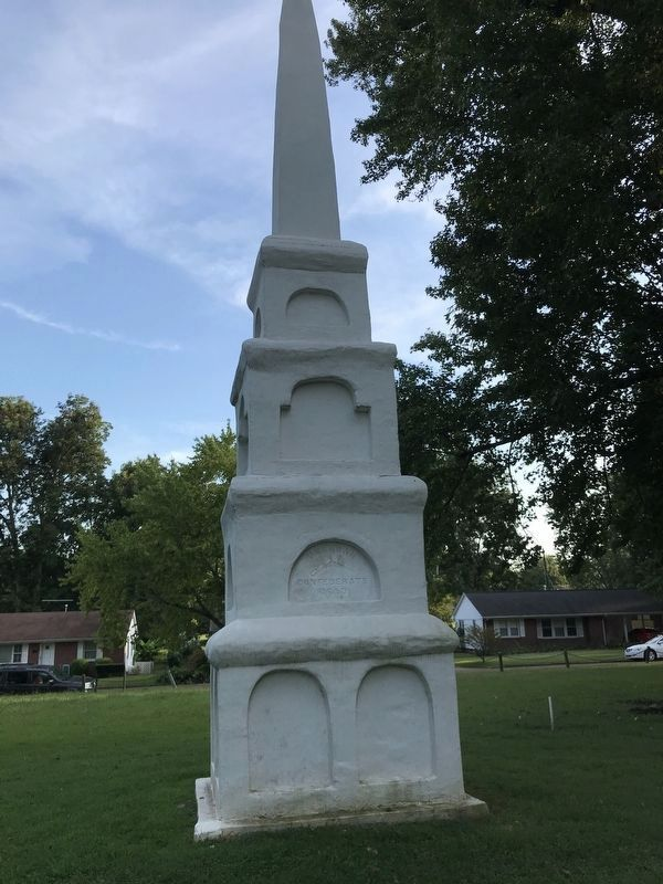 Unknown Confederate Dead Monument (North side) image. Click for full size.