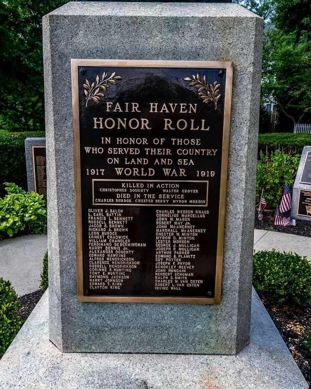 Fair Haven Honor Roll image. Click for full size.