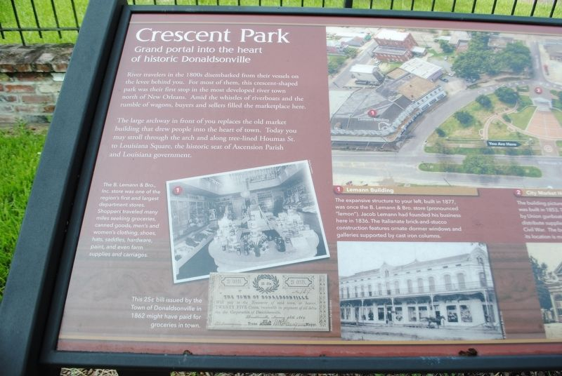 Crescent Park Marker image. Click for full size.
