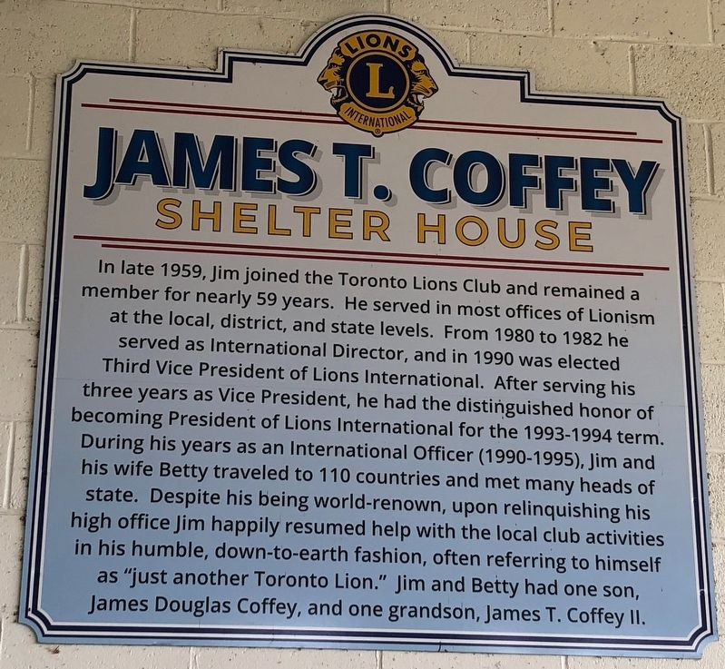 James T. Coffey Marker image. Click for full size.