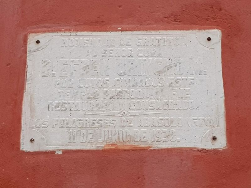 An additional 1938 marker to Father Efren Urincho M. image, Touch for more information