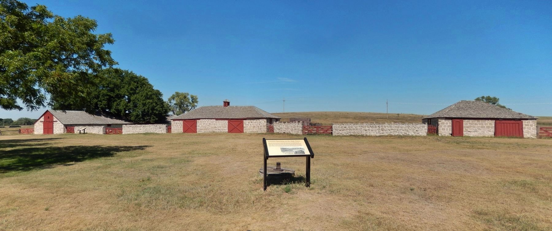 Yorkshire Ranching on the High Plains Marker image. Click for full size.