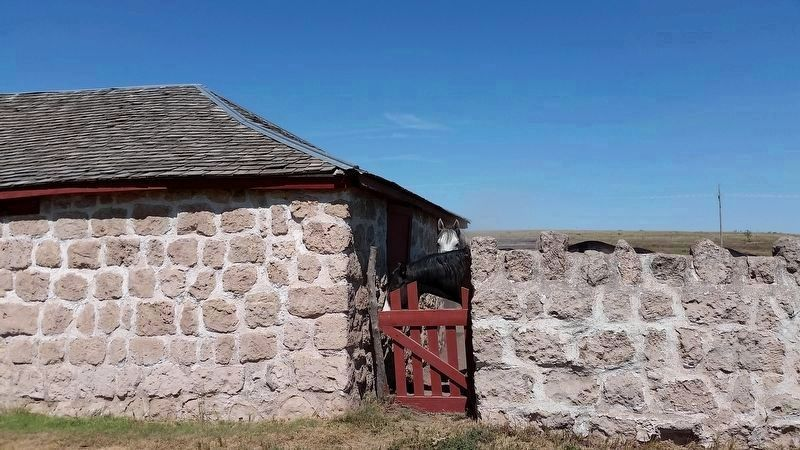 Stables and Adjoining Wall image. Click for full size.