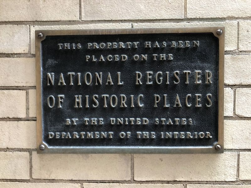 The Hartley Rose Building Marker image. Click for full size.