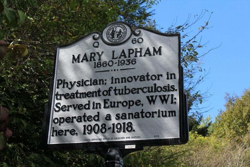 Mary Lapham Marker image. Click for full size.