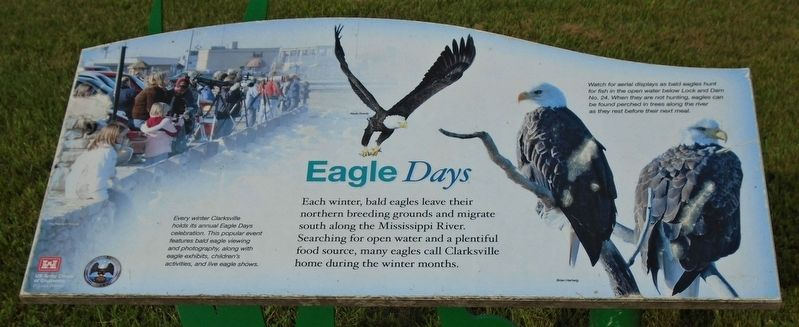 Eagle <i>Days</i> Marker image. Click for full size.