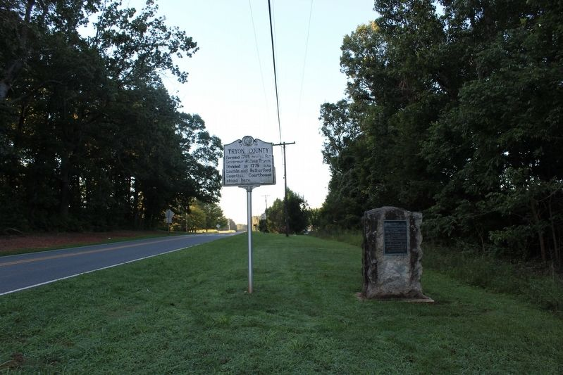 Tryon County Marker image. Click for full size.