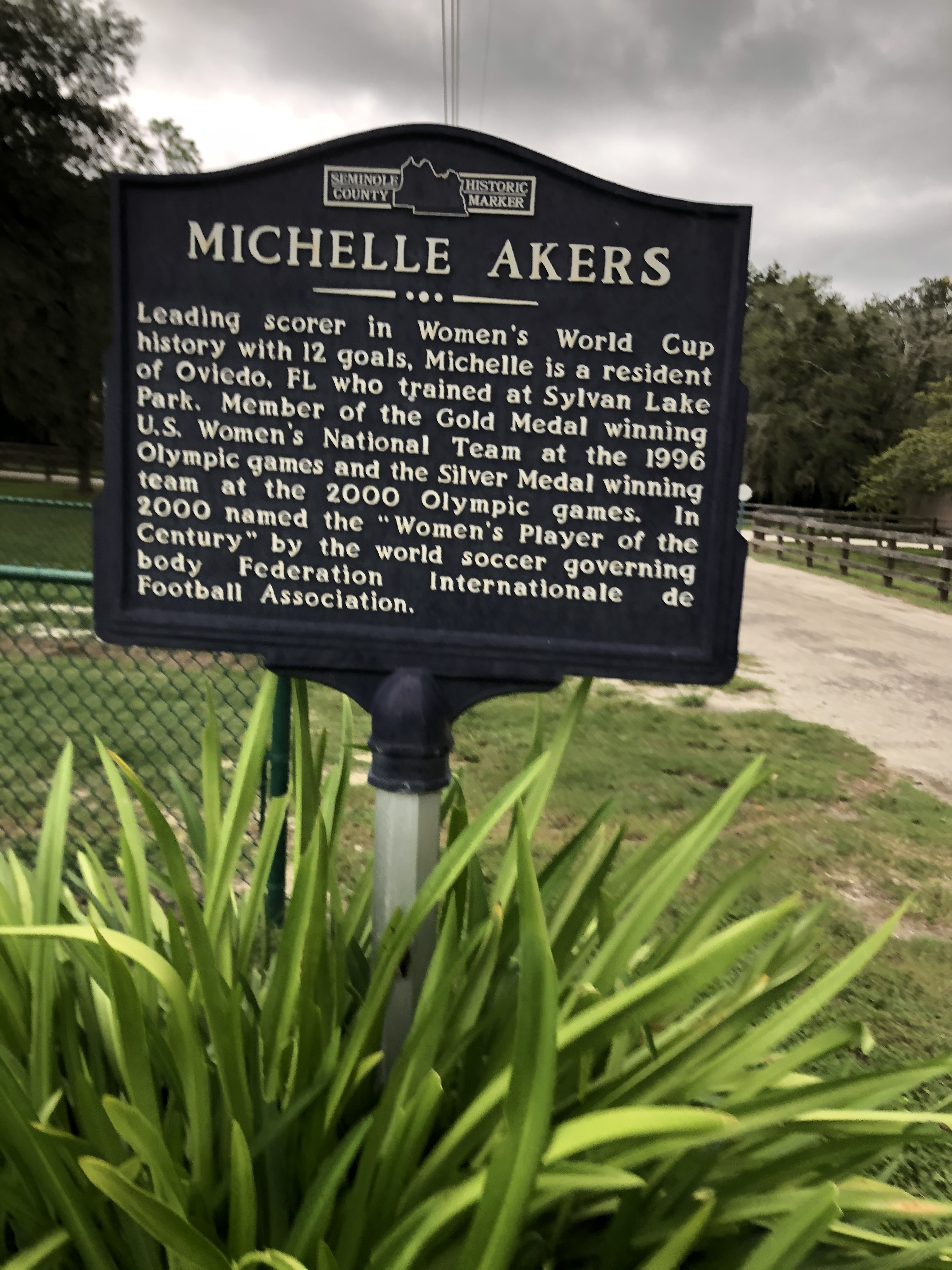 Michelle Akers Marker