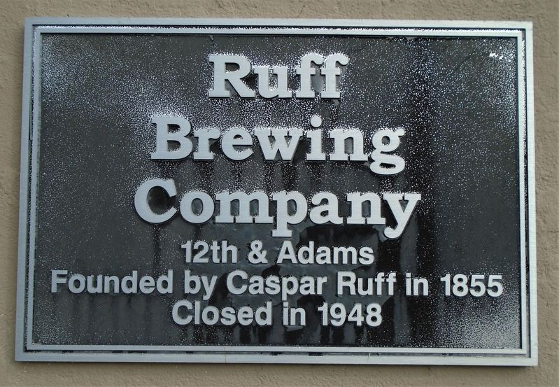 Ruff Brewing Company Marker image. Click for full size.