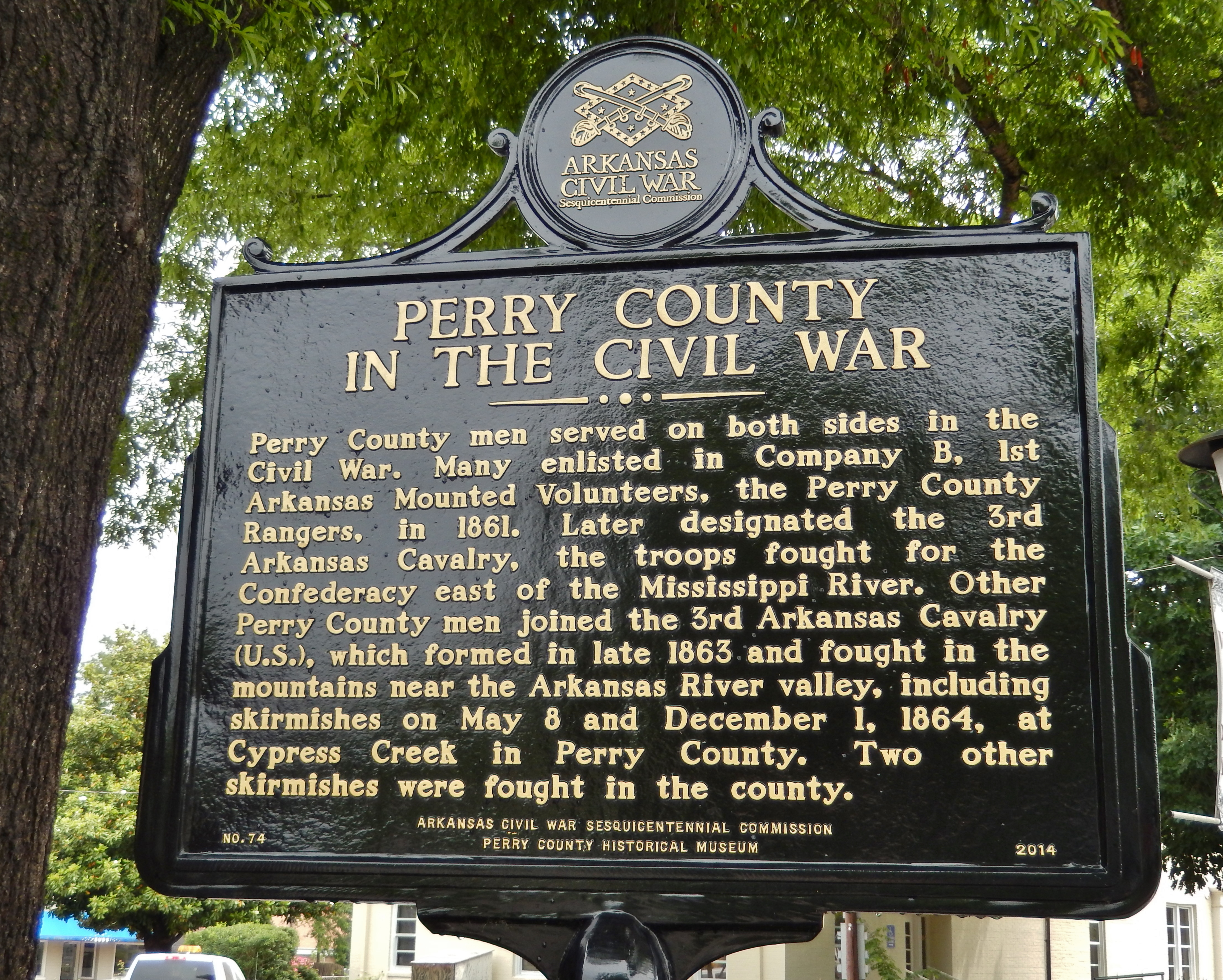 Perry County in the Civil War Marker