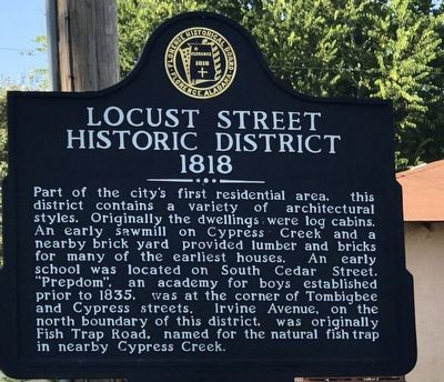 Locust Street Historic District Marker image. Click for full size.