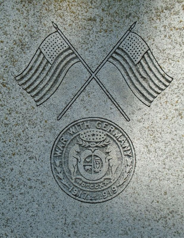 World War Memorial Engraving image. Click for full size.