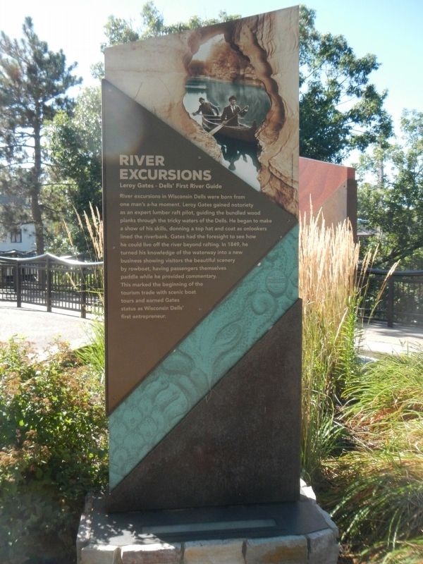 River Excursions Marker image. Click for full size.