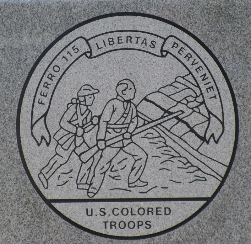 United States Colored Troops Marker image. Click for full size.