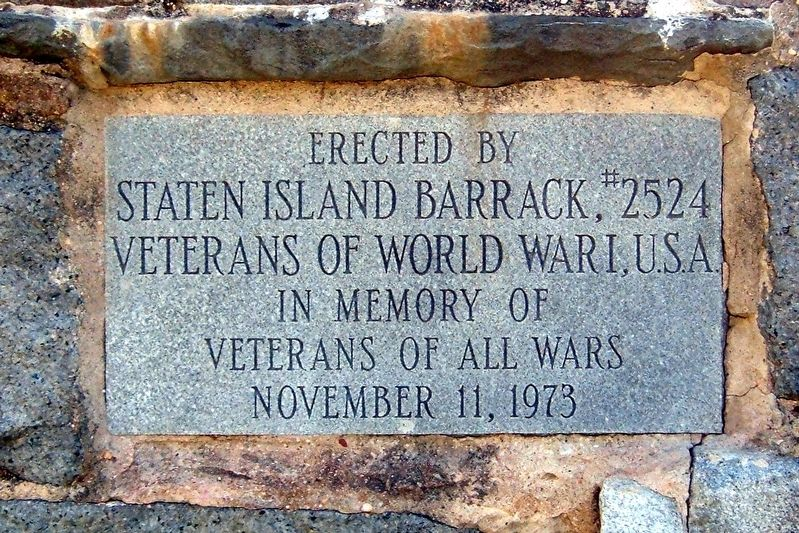 Veterans of All Wars Marker image. Click for full size.