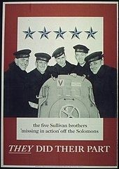 The Sullivan Brothers image. Click for full size.