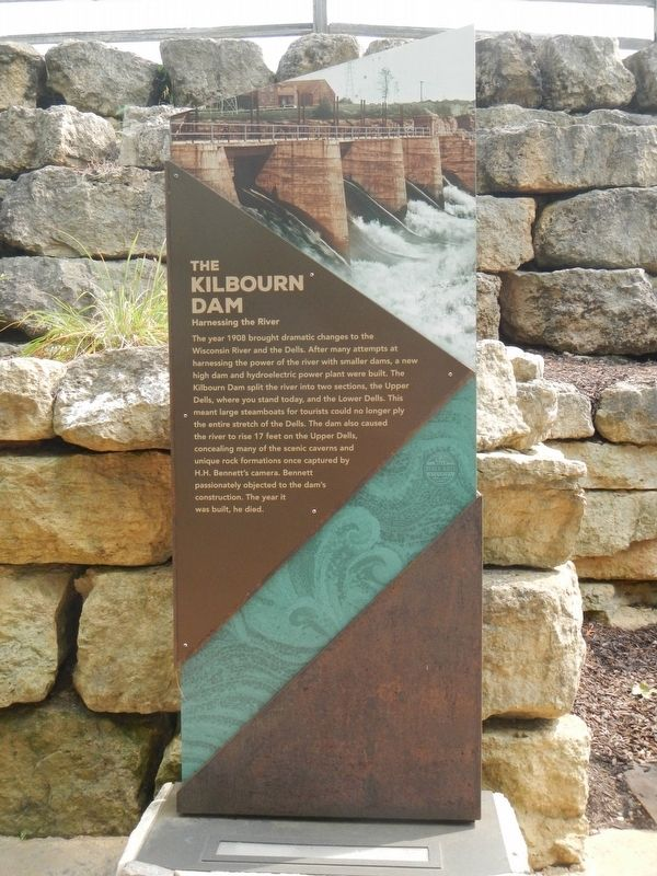 The Kilbourn Dam Marker image. Click for full size.