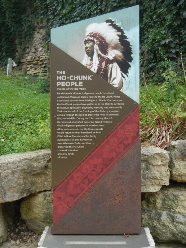The Ho-Chunk People Marker image. Click for full size.