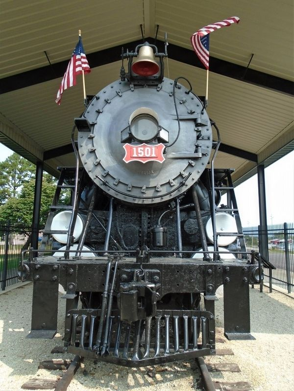 Frisco 1501 Steam Locomotive image. Click for full size.