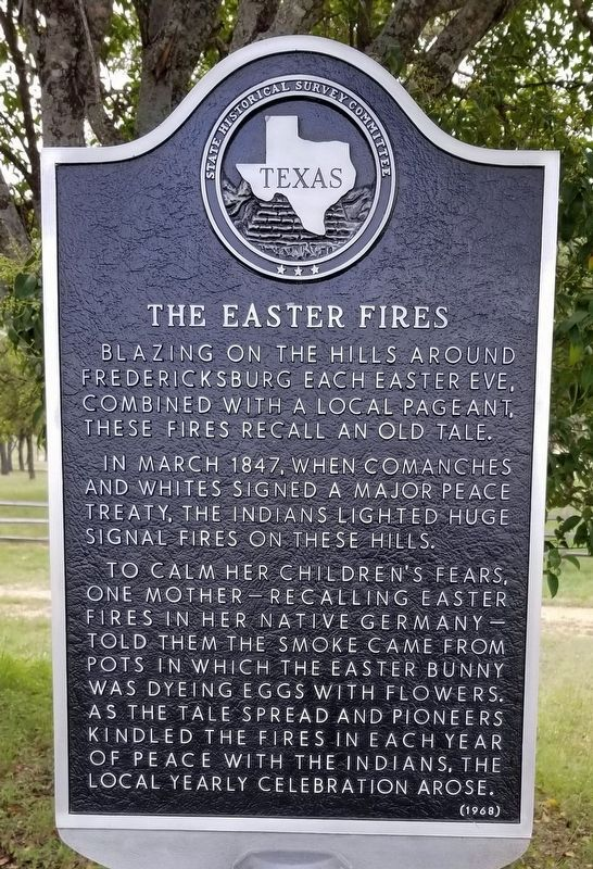 The Easter Fires Marker image. Click for full size.