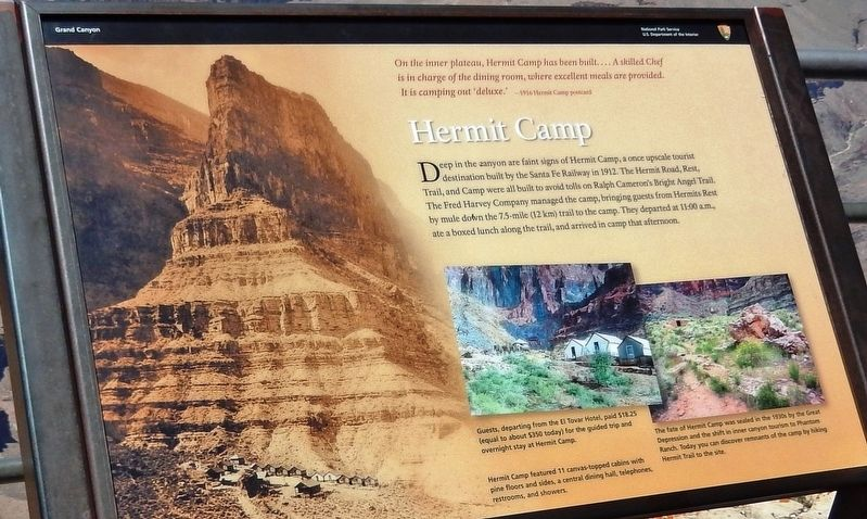 Hermit Camp Marker image. Click for full size.
