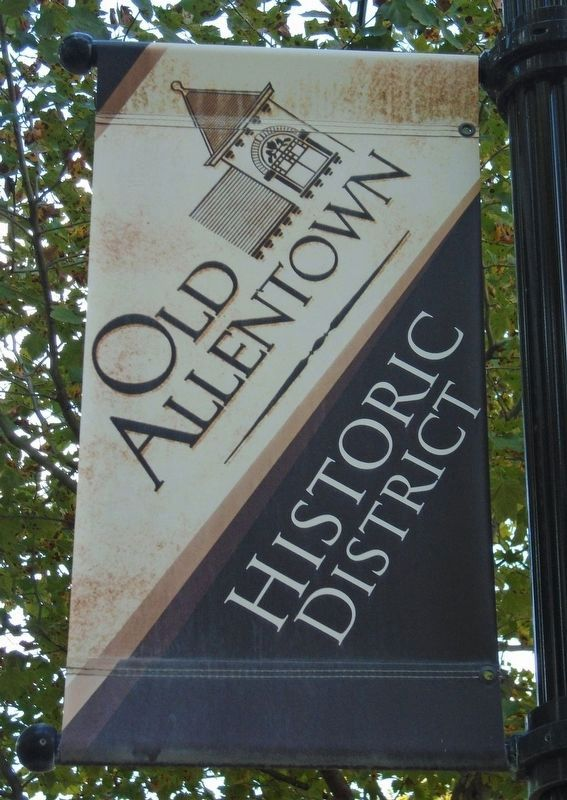 Old Allentown Historic District Banner image. Click for full size.