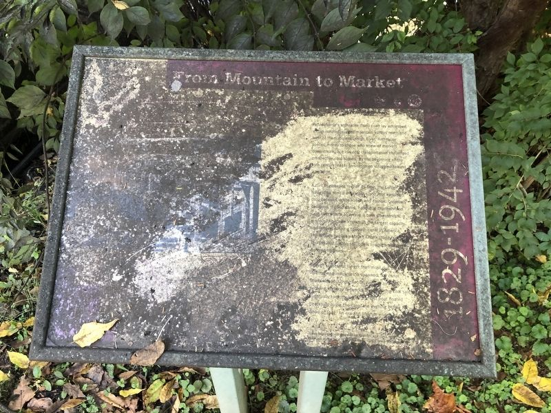 From Mountain to Market Marker image. Click for full size.