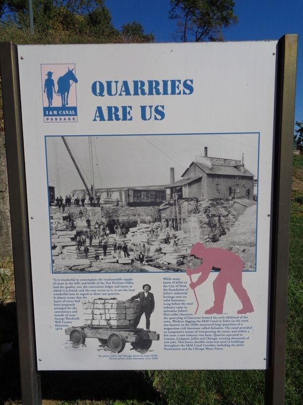 Quarries Are Us Marker image. Click for full size.