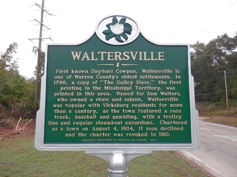 Waltersville Marker image. Click for full size.