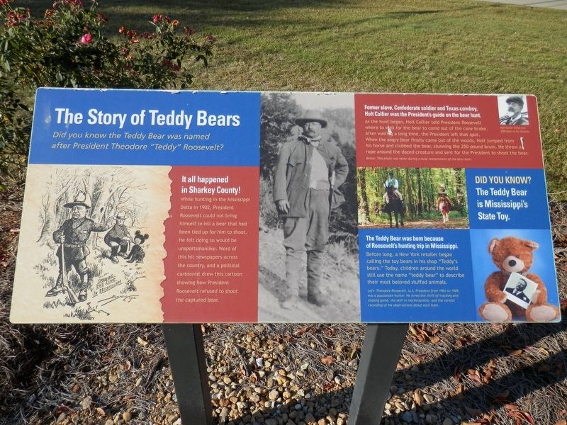 The Story of Teddy Bears Marker image. Click for full size.