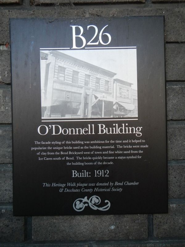 O'Donnell Building Marker image. Click for full size.