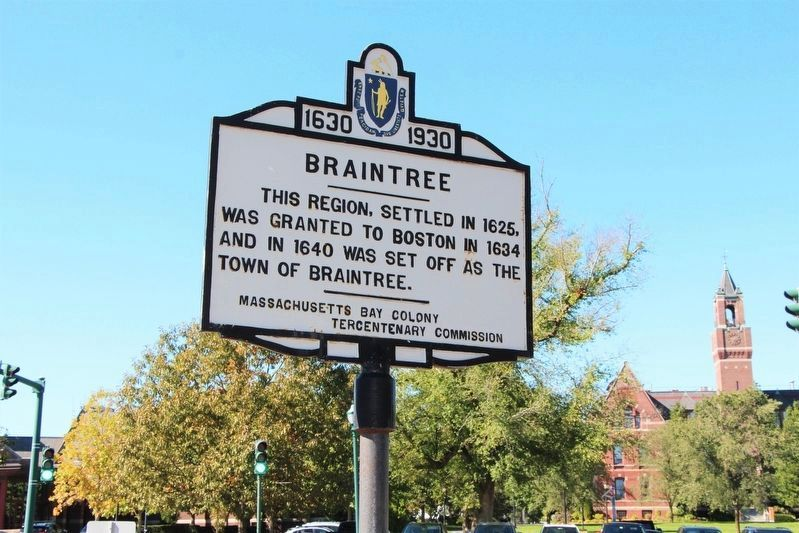 Braintree Marker image. Click for full size.