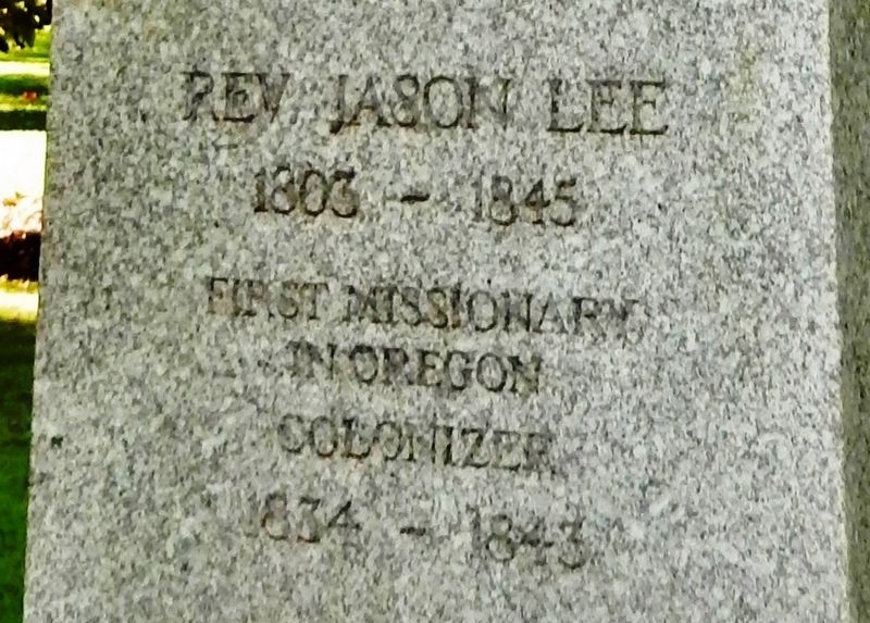 Rev. Jason Lee Marker image. Click for full size.