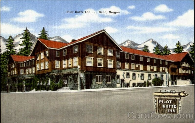 Historic Pilot Butte Inn image. Click for full size.
