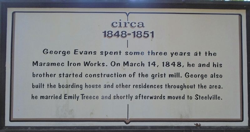 George Evans Marker image. Click for full size.